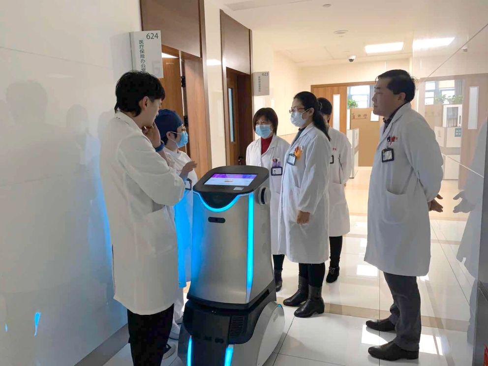 """<b>优地科技推出消毒机器人""""优天使"""",室内360°全方位消毒</b>"""